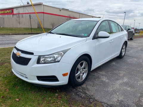 2013 Chevrolet Cruze for sale at McNamara Auto Sales - Kenneth Road Lot in York PA