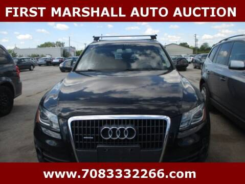 2011 Audi Q5 for sale at First Marshall Auto Auction in Harvey IL