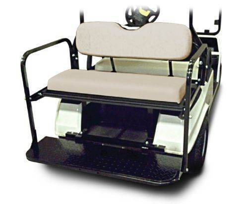 Madjax Flip Rear Seat - XRT850 - BPC for sale at Jim's Golf Cars & Utility Vehicles - Accessories in Reedsville WI