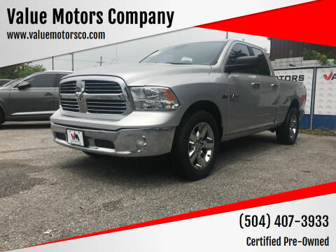 2013 RAM Ram Pickup 1500 for sale at Value Motors Company in Marrero LA