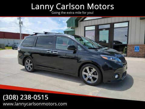 2016 Toyota Sienna for sale at Lanny Carlson Motors in Kearney NE