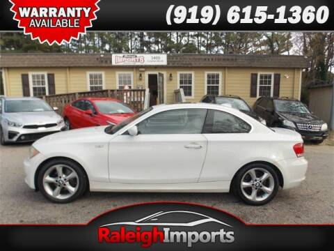 2009 BMW 1 Series for sale at Raleigh Imports in Raleigh NC