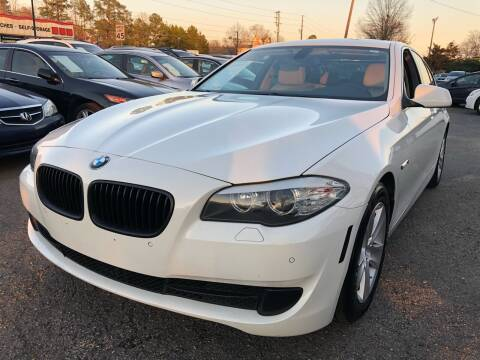 2011 BMW 5 Series for sale at Atlantic Auto Sales in Garner NC