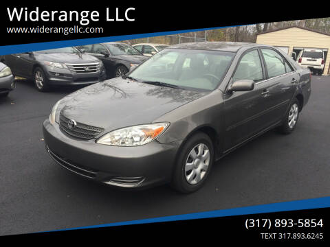 2004 Toyota Camry for sale at Widerange LLC in Greenwood IN