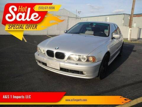2002 BMW 5 Series for sale at A&S 1 Imports LLC in Cincinnati OH
