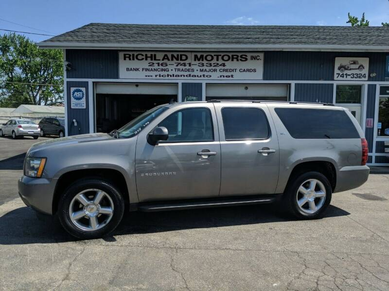 2007 Chevrolet Suburban for sale at Richland Motors in Cleveland OH