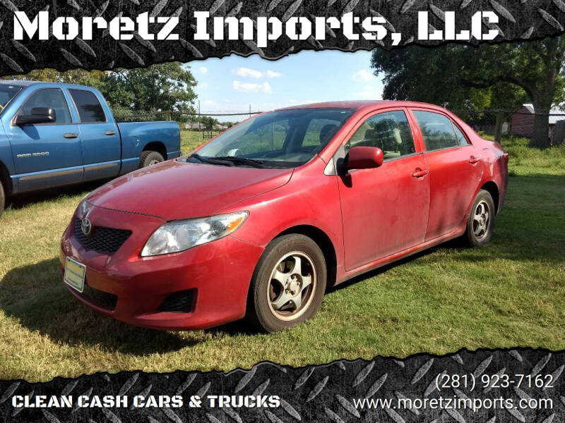 2009 Toyota Corolla for sale at Moretz Imports, LLC in Spring TX