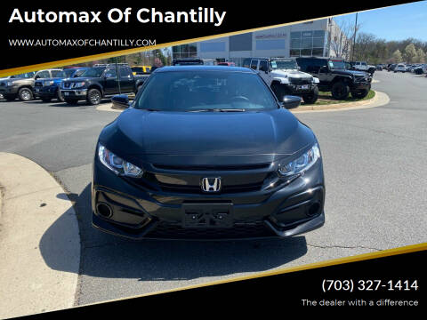 2020 Honda Civic for sale at Automax of Chantilly in Chantilly VA