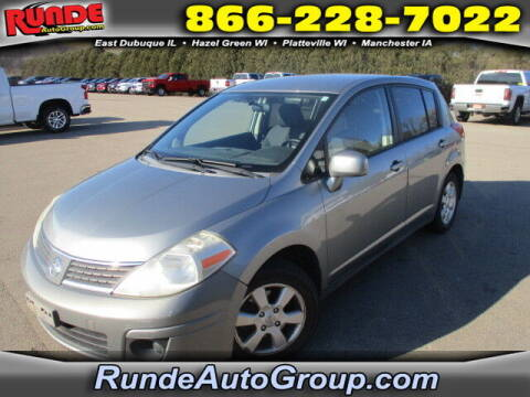 2007 Nissan Versa for sale at Runde Chevrolet in East Dubuque IL