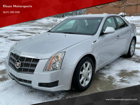 2009 Cadillac CTS for sale at Klean Motorsports in Skokie IL