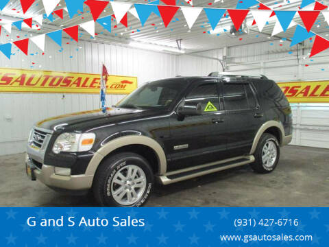 2006 Ford Explorer for sale at G and S Auto Sales in Ardmore TN