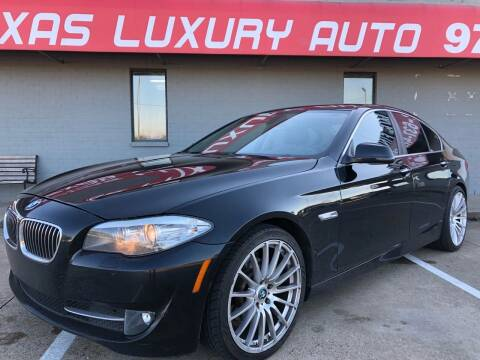 2011 BMW 5 Series for sale at Texas Luxury Auto in Cedar Hill TX