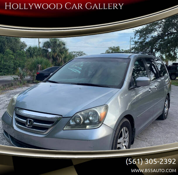 2006 Honda Odyssey EX-L w/DVD w/Navi