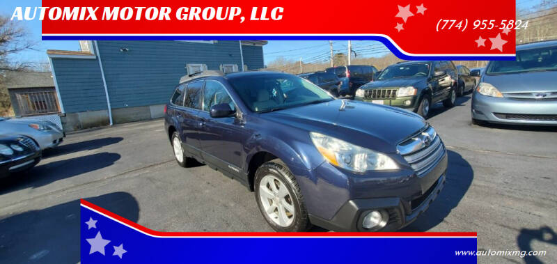 2014 Subaru Outback for sale at AUTOMIX MOTOR GROUP, LLC in Swansea MA