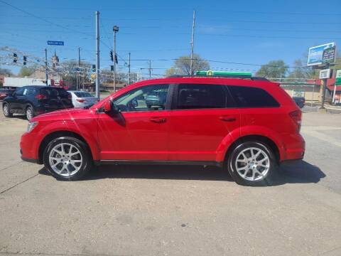 2014 Dodge Journey for sale at Bob Boruff Auto Sales in Kokomo IN