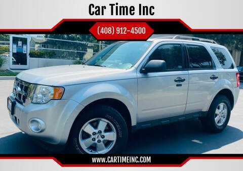 2010 Ford Escape for sale at Car Time Inc in San Jose CA