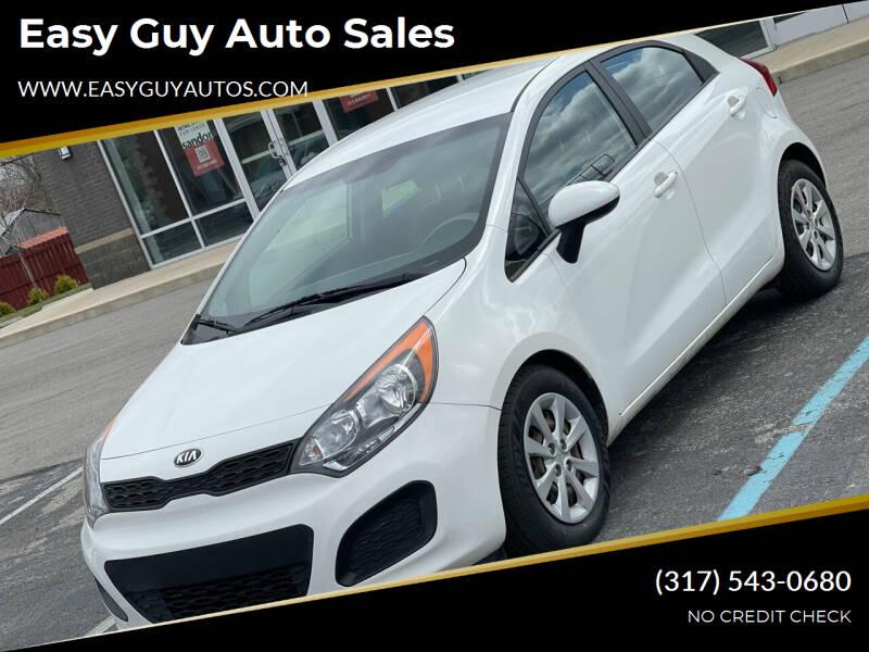 2015 Kia Rio 5-Door for sale at Easy Guy Auto Sales in Indianapolis IN