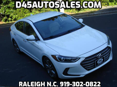 2017 Hyundai Elantra for sale at D45 Auto Brokers in Raleigh NC