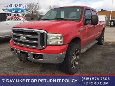 2005 Ford F-250 Super Duty for sale at Fort Dodge Ford Lincoln Toyota in Fort Dodge IA