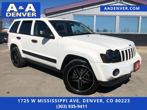 2005 Jeep Grand Cherokee for sale at A & A AUTO LLC in Denver CO