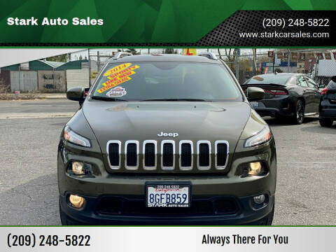 2014 Jeep Cherokee for sale at Stark Auto Sales in Modesto CA