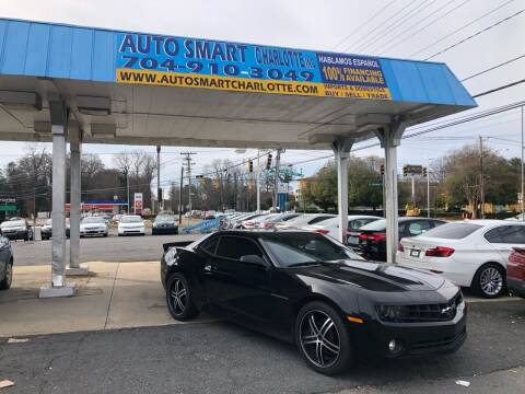 2011 Chevrolet Camaro for sale at Auto Smart Charlotte in Charlotte NC