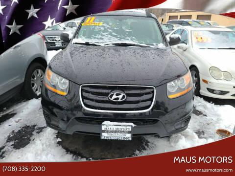 2011 Hyundai Santa Fe for sale at MAUS MOTORS in Hazel Crest IL