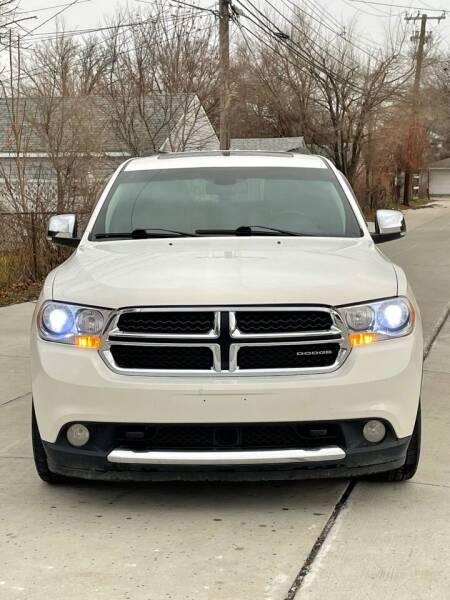 2011 Dodge Durango for sale at Suburban Auto Sales LLC in Madison Heights MI