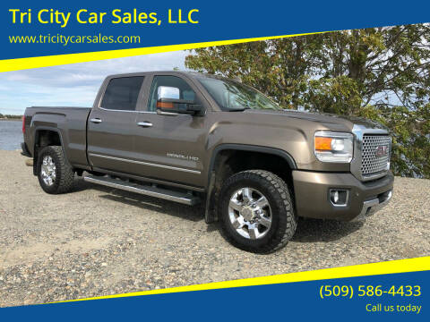 2015 GMC Sierra 3500HD for sale at Tri City Car Sales, LLC in Kennewick WA