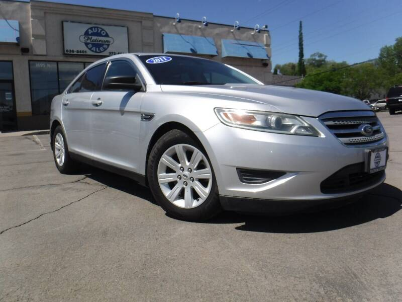 2011 Ford Taurus for sale at Platinum Auto Sales in Provo UT