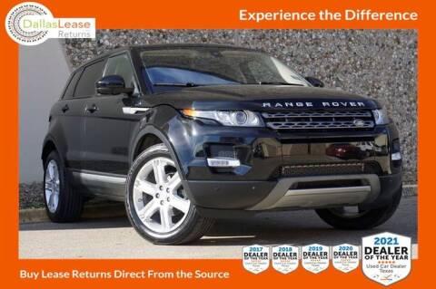2015 Land Rover Range Rover Evoque for sale at Dallas Auto Finance in Dallas TX