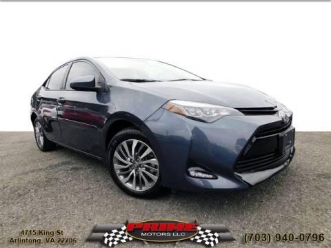 2018 Toyota Corolla for sale at PRIME MOTORS LLC in Arlington VA