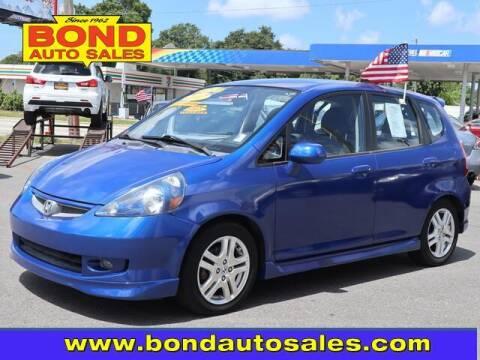 2007 Honda Fit for sale at Bond Auto Sales in Saint Petersburg FL