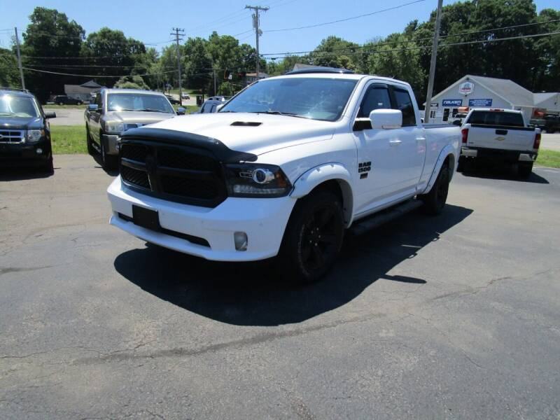 2017 RAM Ram Pickup 1500 for sale at Route 12 Auto Sales in Leominster MA