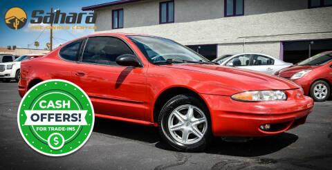 2003 Oldsmobile Alero for sale at Sahara Pre-Owned Center in Phoenix AZ