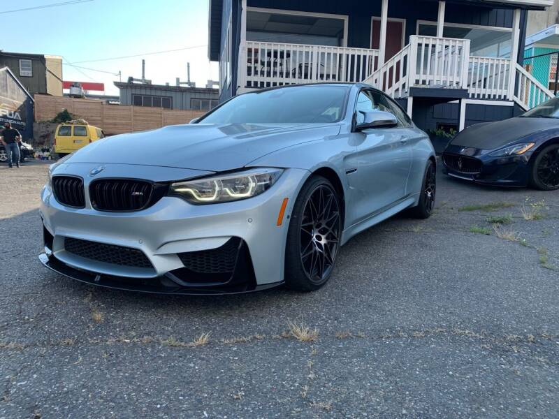 2018 BMW M4 for sale at First Union Auto in Seattle WA