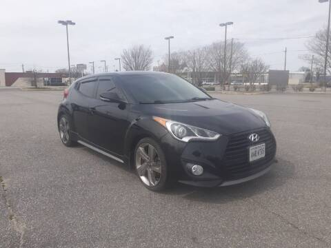 2015 Hyundai Veloster for sale at A&R MOTORS in Portsmouth VA