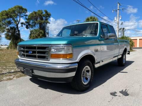 1995 Ford F-150 for sale at American Classics Autotrader LLC in Pompano Beach FL