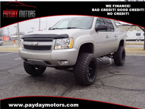 2007 Chevrolet Avalanche for sale at Payday Motors in Wichita And Topeka KS