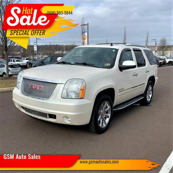 2012 GMC Yukon for sale at GSM Auto Sales in Linden NJ