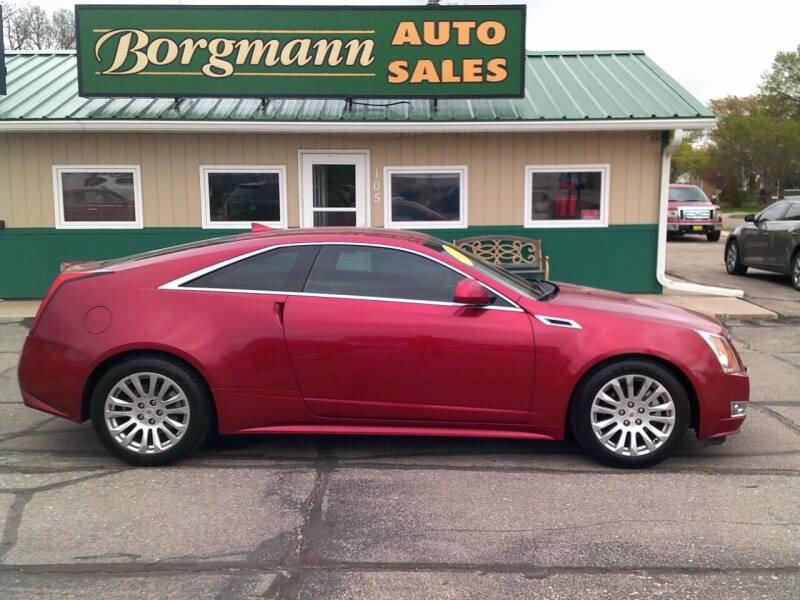 2012 Cadillac CTS for sale at Borgmann Auto Sales in Norfolk NE