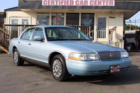 2005 Mercury Grand Marquis for sale at CERTIFIED CAR CENTER in Fairfax VA