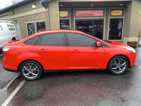 2014 Ford Focus for sale at Advantage Auto Sales in Garden City ID