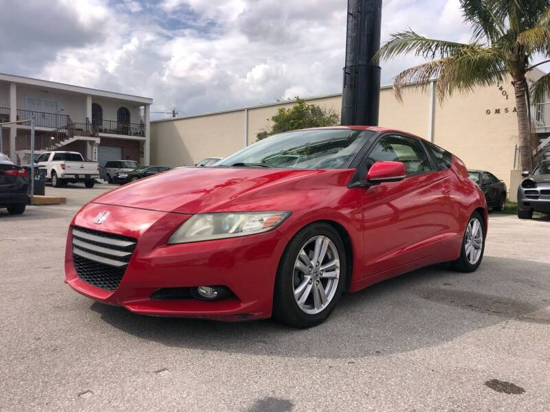 2011 Honda CR-Z for sale at Florida Cool Cars in Fort Lauderdale FL
