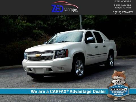 2013 Chevrolet Avalanche for sale at Zed Motors in Raleigh NC