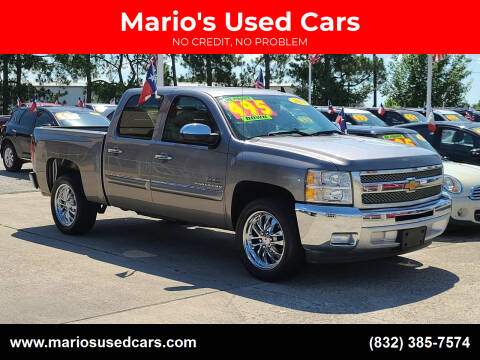 2013 Chevrolet Silverado 1500 for sale at Mario's Used Cars in Houston TX