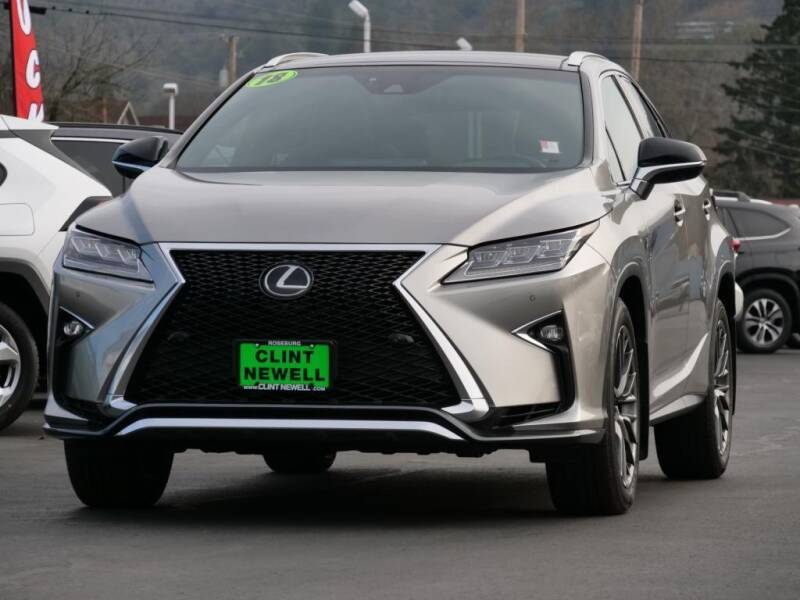 2018 Lexus RX 350 for sale at CLINT NEWELL USED CARS in Roseburg OR