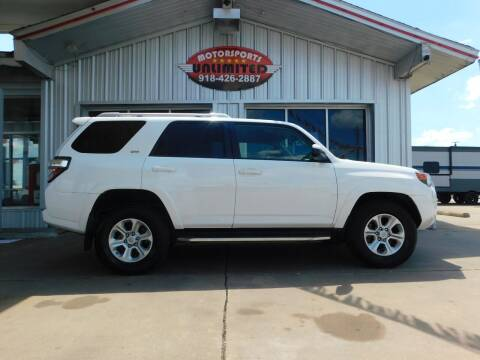 2018 Toyota 4Runner for sale at Motorsports Unlimited in McAlester OK