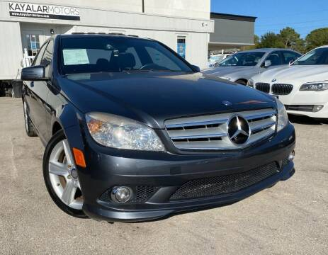 2010 Mercedes-Benz C-Class for sale at KAYALAR MOTORS in Houston TX