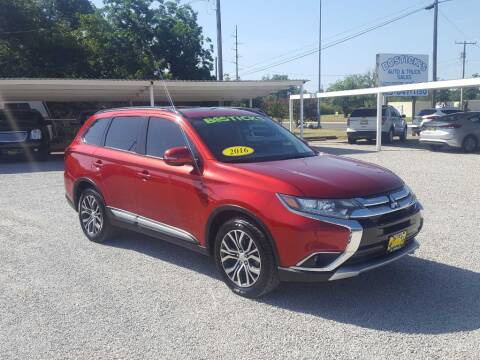 2016 Mitsubishi Outlander for sale at Bostick's Auto & Truck Sales in Brownwood TX